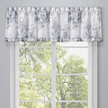Royal Court Estelle Blue Window Straight Valance