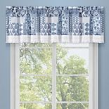 Royal Court Tessa Navy Window Straight Valance
