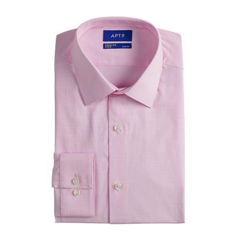 Men's Apt. 9® Premier Flex Extra-Slim Fit Flex Collar Dress Shirt