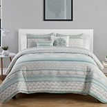 VCNY Home Mateo Medallion Quilt Set