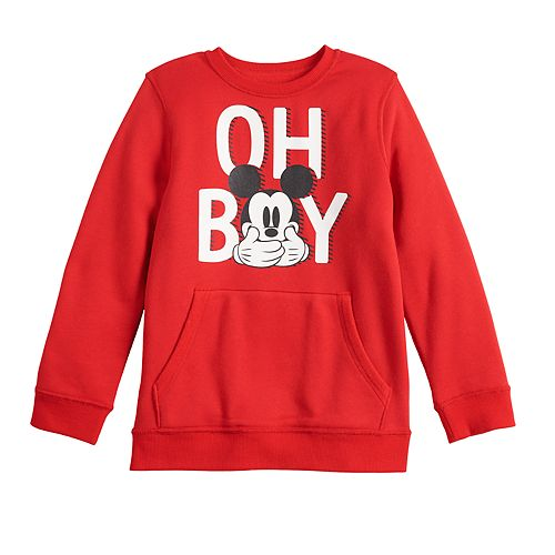 Disney's Mickey Mouse Toddler Boy Adaptive Crewneck Sweater by Jumping Beans®