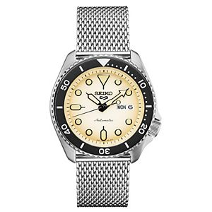 Seiko Men's Stainless Steel Mesh Automatic Watch - SRPD67