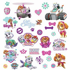 RoomMates Paw Patrol Girl Pups Wall Decal