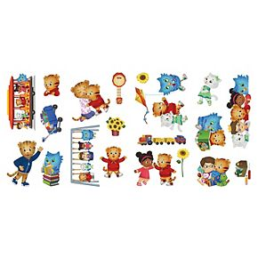 Daniel Tiger Peel and Stick Wall Decals by RoomMates