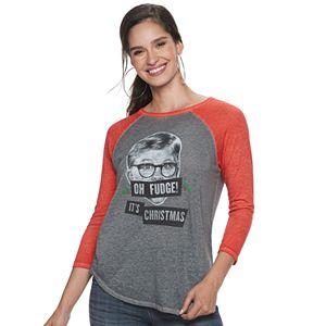 "Women's Rock & Republic® ""Oh Fudge"" Three-Quarter Sleeve Graphic Tee"