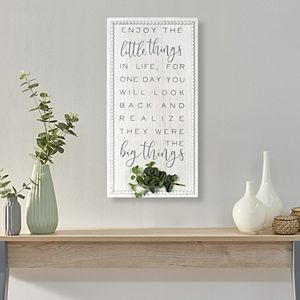 New View Enjoy the Little Things Framed Wall Art