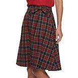 Women's ELLE? Bow A-Line Skirt