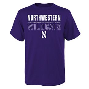 Boys 4-20 Northwestern Wildcats Launch Tee
