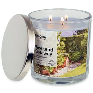 SONOMA Goods for Life® Weekend Getaway 14-oz. Candle Jar