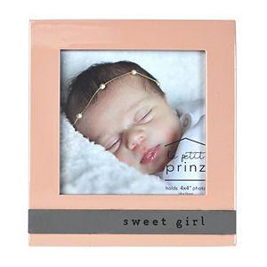 "Prinz Sweet Girl Glossy 4"" x 4"" Frame"