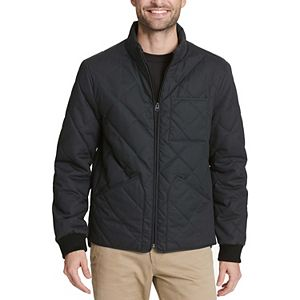 Men's Dockers® Diamond Quilted Stand-Collar Bomber Jacket