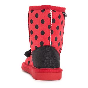 MUK LUKS Reese Ladybug Toddler Girls' Winter Boots