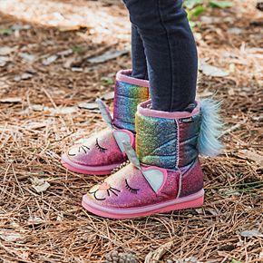 MUK LUKS Averly Unikitten Toddler Girls' Winter Boots