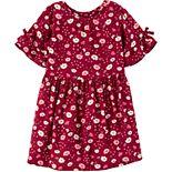 Toddler Girl Carter's Floral Viscose Dress