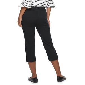 Women's Croft & Barrow® Effortless Stretch Capris