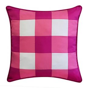 Edie@Home Outdoor Gingham Decorative Throw Pillow