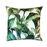 Edie@Home Outdoor Palm Tree Throw Pillow