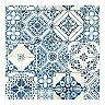 RoomMates Mediterranean Faux Tile Peel & Stick Wallpaper