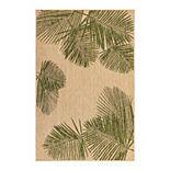 Liora Manne Carmel Palm Indoor Outdoor Rug