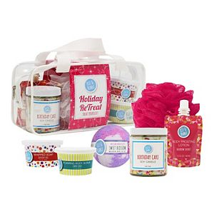 Fizz & Bubble Holiday Re-TREAT Yourself Gift Bag
