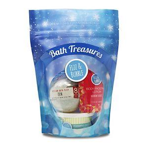 Fizz & Bubble Bath Treasures Gift Set