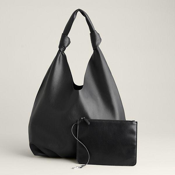 Elizabeth and James Knotted Soft Hobo Bag (5 color options)