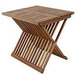 Decor Therapy Brandon Folding End Table