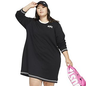 Plus Size Nike Fleece Dress