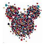 Disney Minnie Mouse Heart Wall Decal by RoomMates