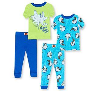 Baby Boy 4-Piece Horton Hears A Who Pajama Set