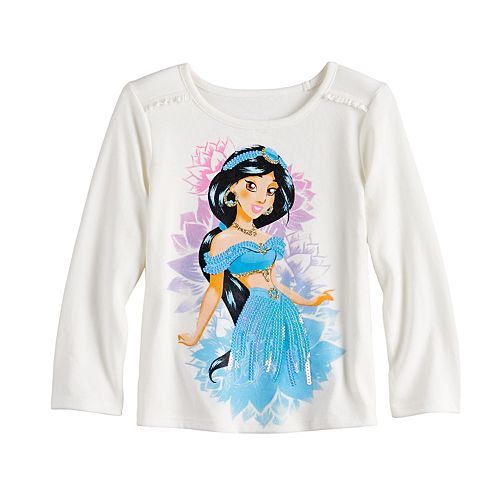 Disney's Aladdin Jasmine Toddler Girl Ruffle Top by Jumping Beans®