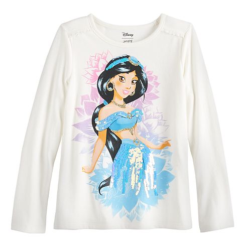 Disney's Aladdin Jasmine Girls 4-12 Ruffled Top by Jumping Beans®