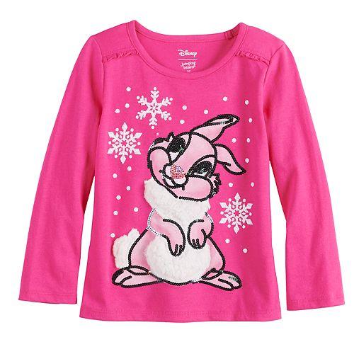 Disney's Bambi Thumper Toddler Girl Ruffle Top by Jumping Beans®