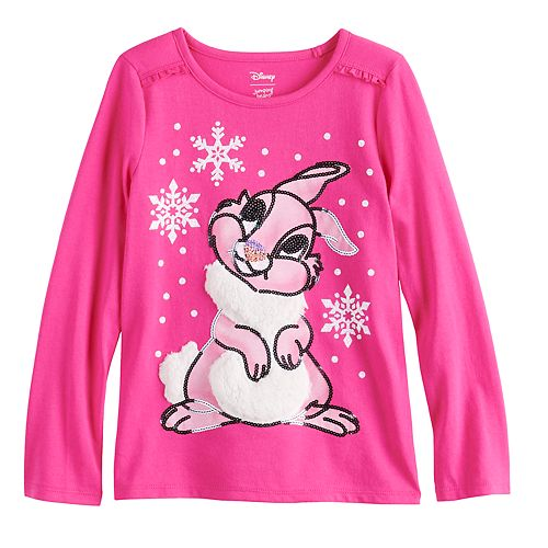 Disney's Bambi Thumper Girls 4-12 Ruffled Top by Jumping Beans®