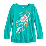 Disney's The Little Mermaid Ariel Girls 4-12 High-Low Hem Top by Jumping Beans®