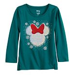Disney's Minnie Mouse Toddler Girl Sequin Graphic Tee by Jumping Beans®