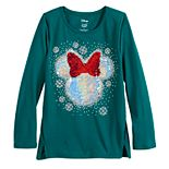 Disney's Minnie Mouse Girls 4-12 Flip-Sequin Graphic Top by Jumping Beans®