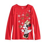 Disney's Minnie Mouse Girls 4-12 Ruffled Top by Jumping Beans®