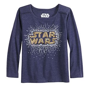 Toddler Girl Jumping Beans® Star Wars Sequin Graphic Tee