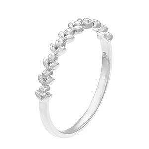 LC Lauren Conrad 10k Gold Leaf Ring
