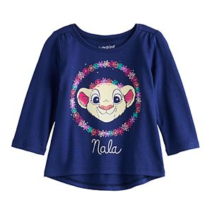 Disney's The Lion King Nala Baby Girl Long Sleeve Shirred Tee by Jumping Beans