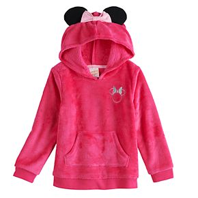 Disney's Minnie Mouse Toddler Girl Plush Tunic Hoodie by Jumping Beans®