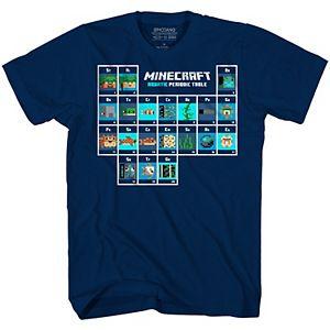 Boys 8-20 Minecraft Periodic Table Graphic Tee