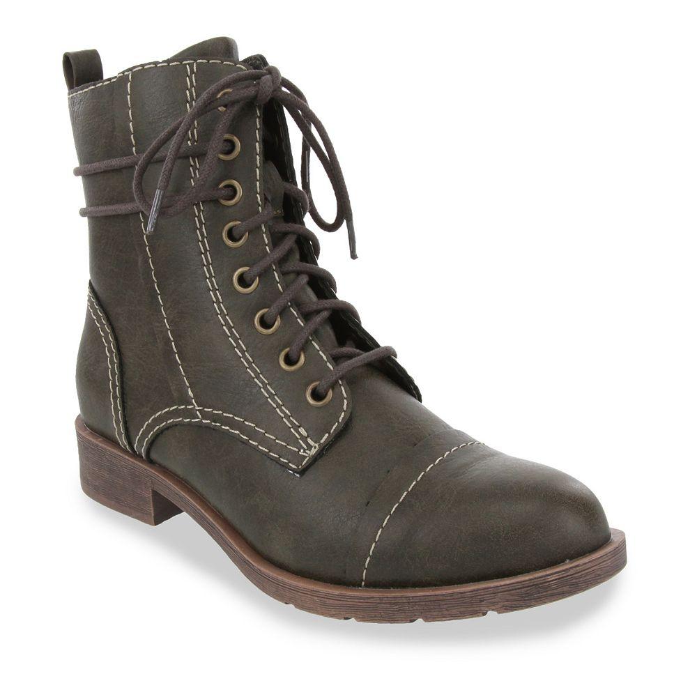 Gloria Vanderbilt Kailee Women's Combat Boots