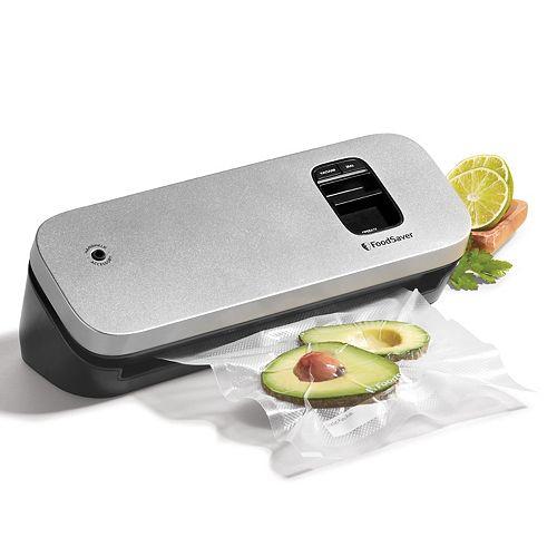 FoodSaver Space-Saving Food Vacuum Sealer