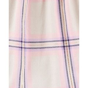 Toddler Girl OshKosh B'gosh® Metallic Plaid Flannel Top