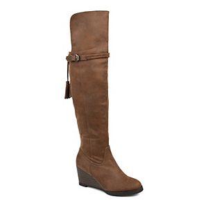 Journee Collection Jezebel Women's Wedge Boots