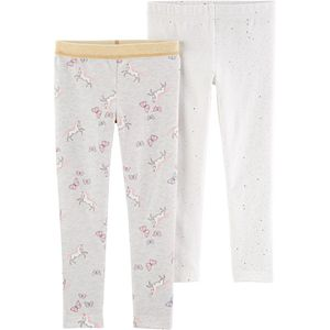 Carters Girls Pink Pull On Sparkle Skinny Pants 6 Months