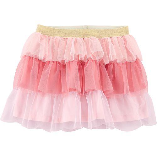 Toddler Girl Carter's Tiered Tutu Skirt