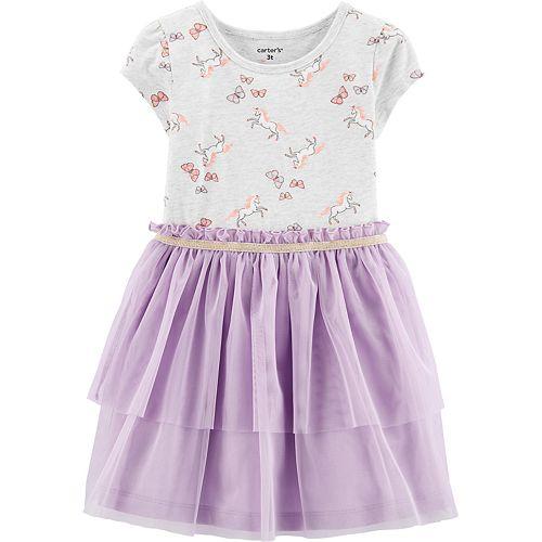 Toddler Girl Carter's Unicorn Tutu Dress